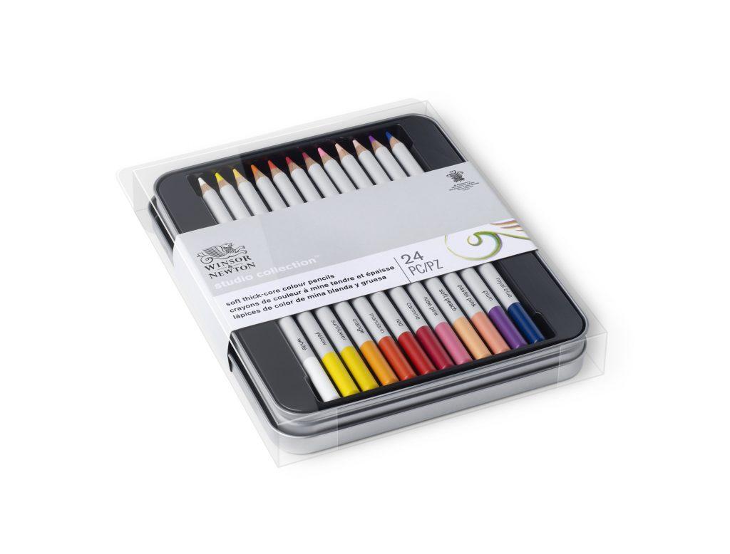 Colección 24 lápices de colores