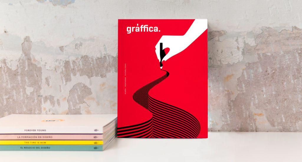 Malika Favre nos descubre todos los secretos tras la portada de la revista Gràffica 'Ilustración'