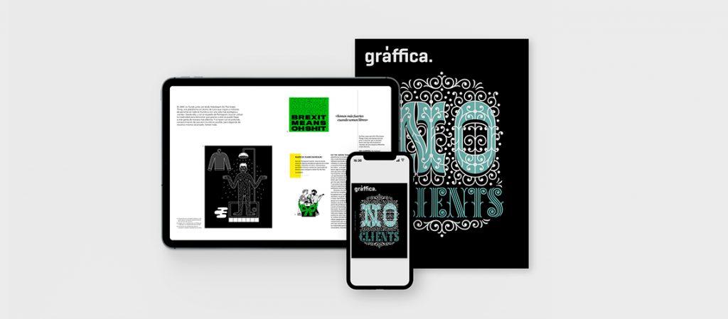 La revista Gràffica 'No Clients', ahora gratuita de forma digital en la App de Gràffica