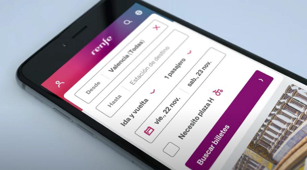 Renfe estrena nuevo diseño en su web, así como cambios en la navegabilidad y usabilidad. Renfe diseño web.