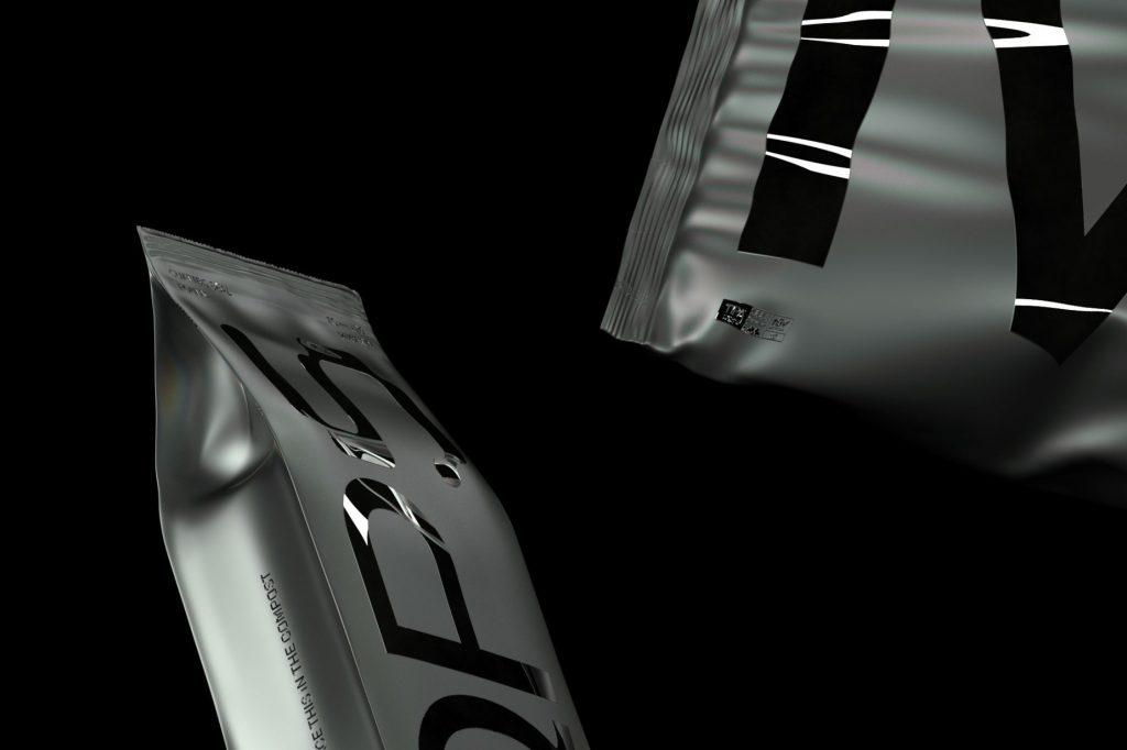 Se trata de un packaging que se disuelve de forma literal del estudio de diseño londinense OMSE para Grounded, una empresa de embalaje sostenibles.