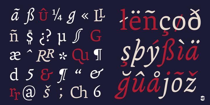 Tipografía Andralis