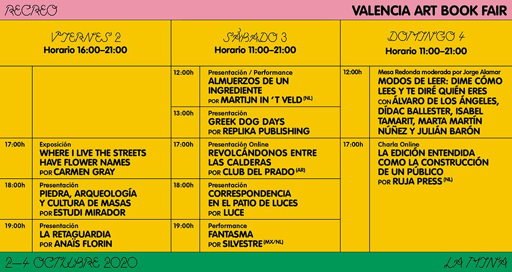 Nace Recreo – Valencia Art Book Fair