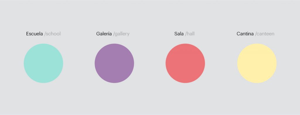 Paleta de colores para la nueva imagen de Off Artes Escénicas