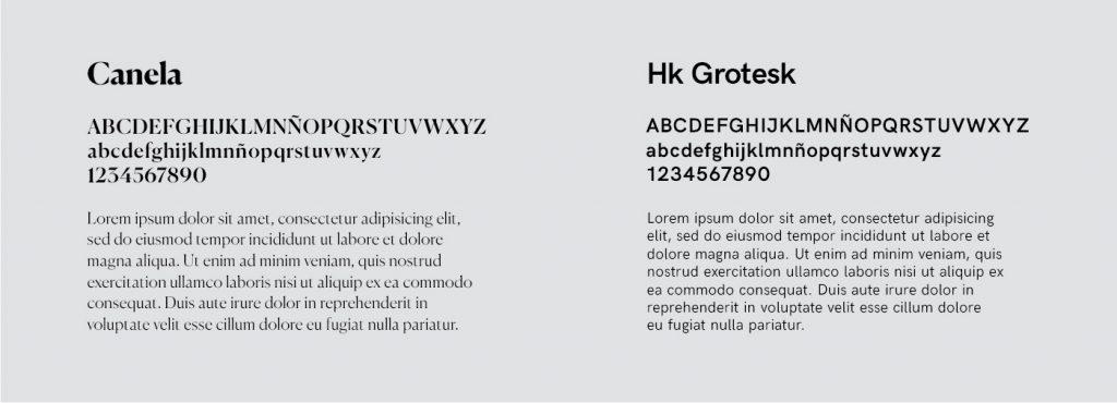 Tipografía para la nueva imagen de Off Artes Escénicas