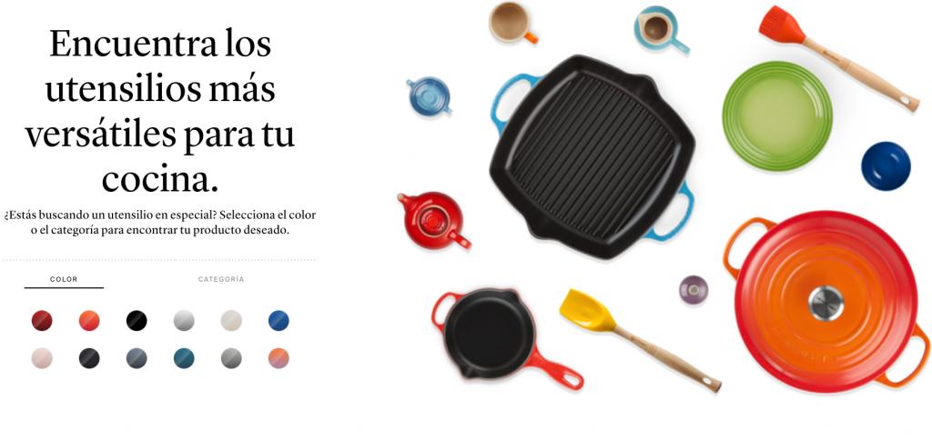 El nuevo sitio web de Le Creuset, mucho más que una experiencia culinaria