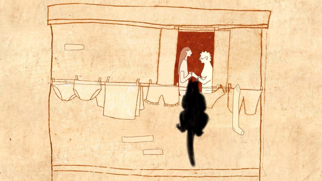 Ni vu ni connu, corto de animación