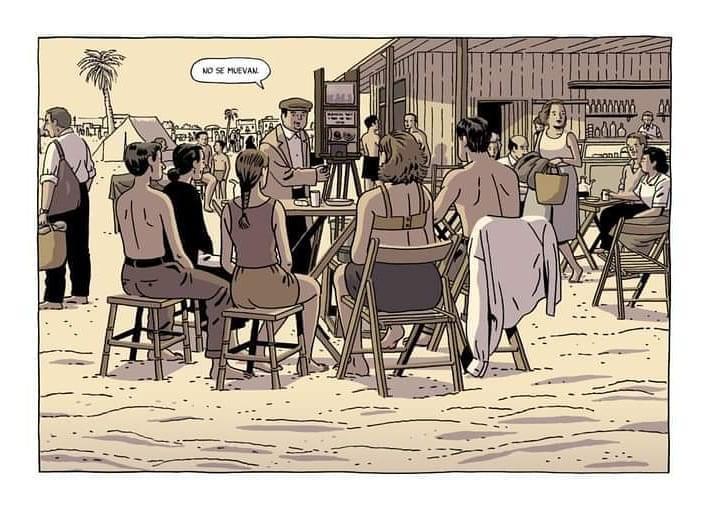 Viñeta del nuevo cómic de Paco Roca Regreso al Edén