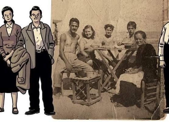 Fotografía de la que Paco Roca se ha inspirado para su nuevo cómic.