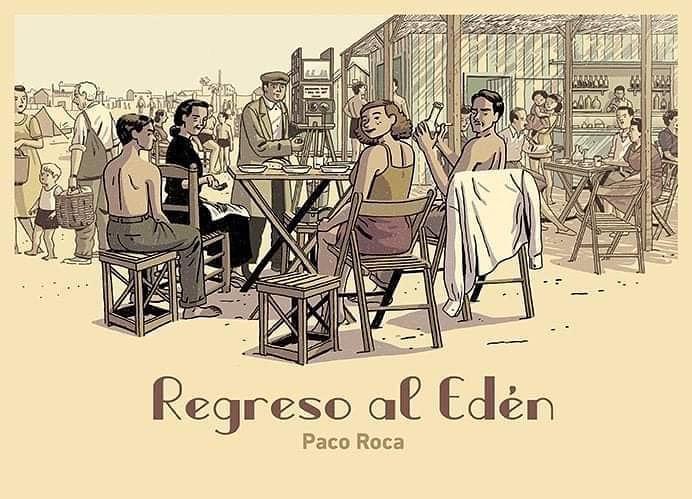 imagen del nuevo cómic de Paco Roca Regreso al Edén