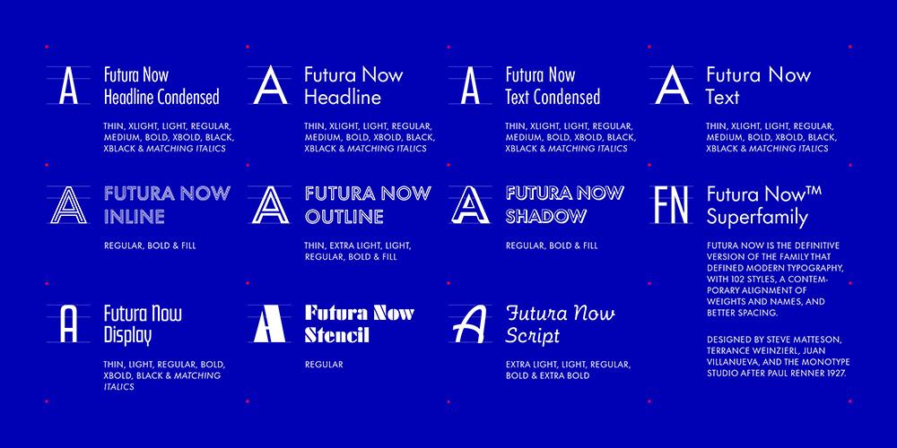 Estilos de Futura Now