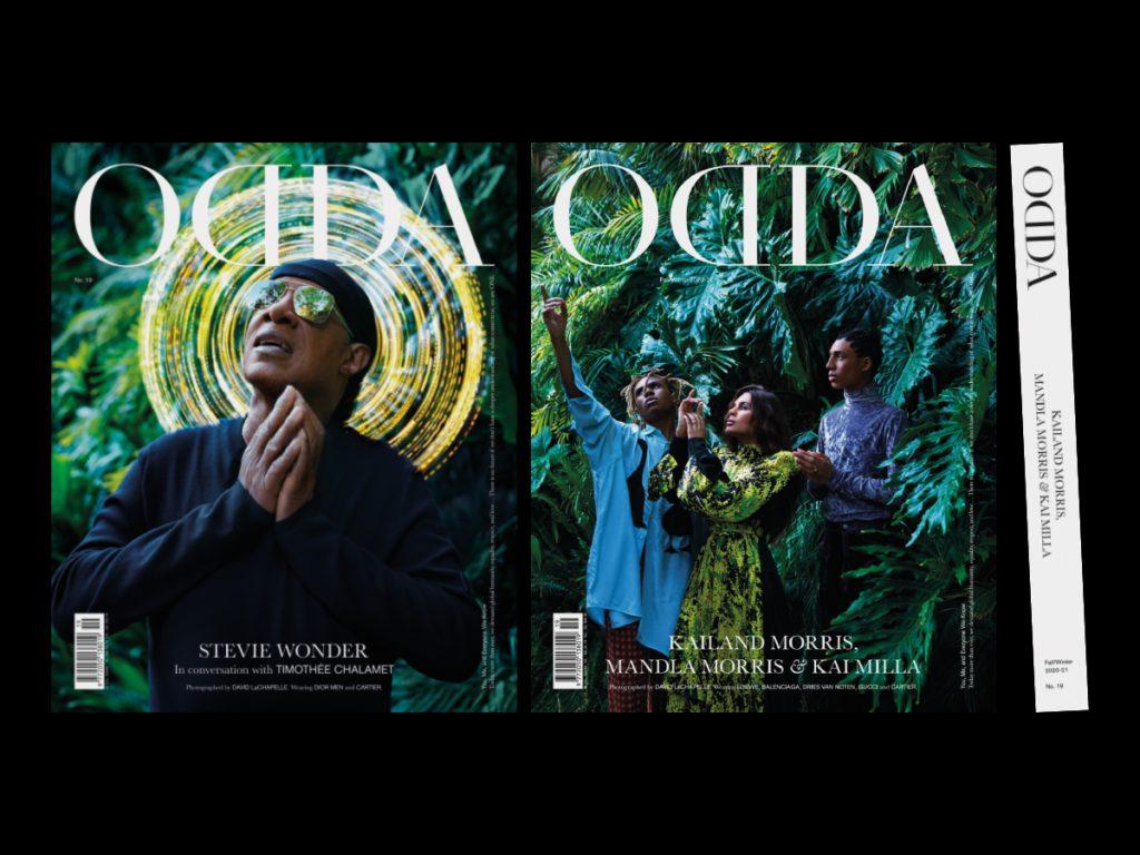El último proyecto de Naranjo-Etxeberria: ODDA Magazine