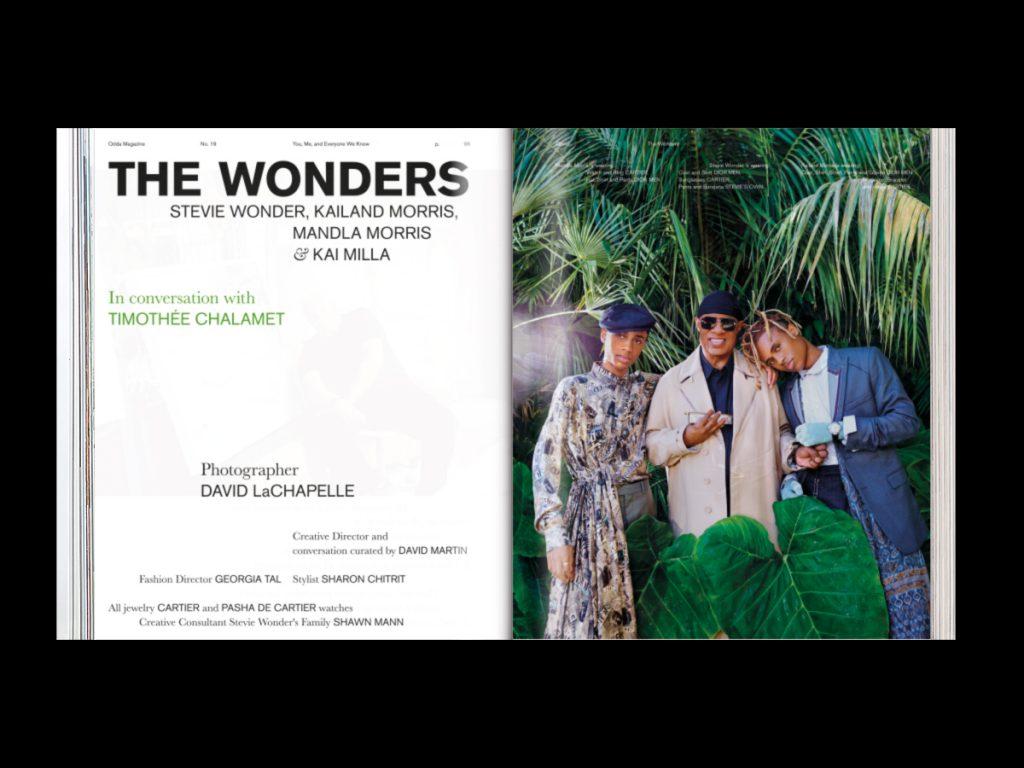Revista ODDA - Doble página interior 7 del número 19