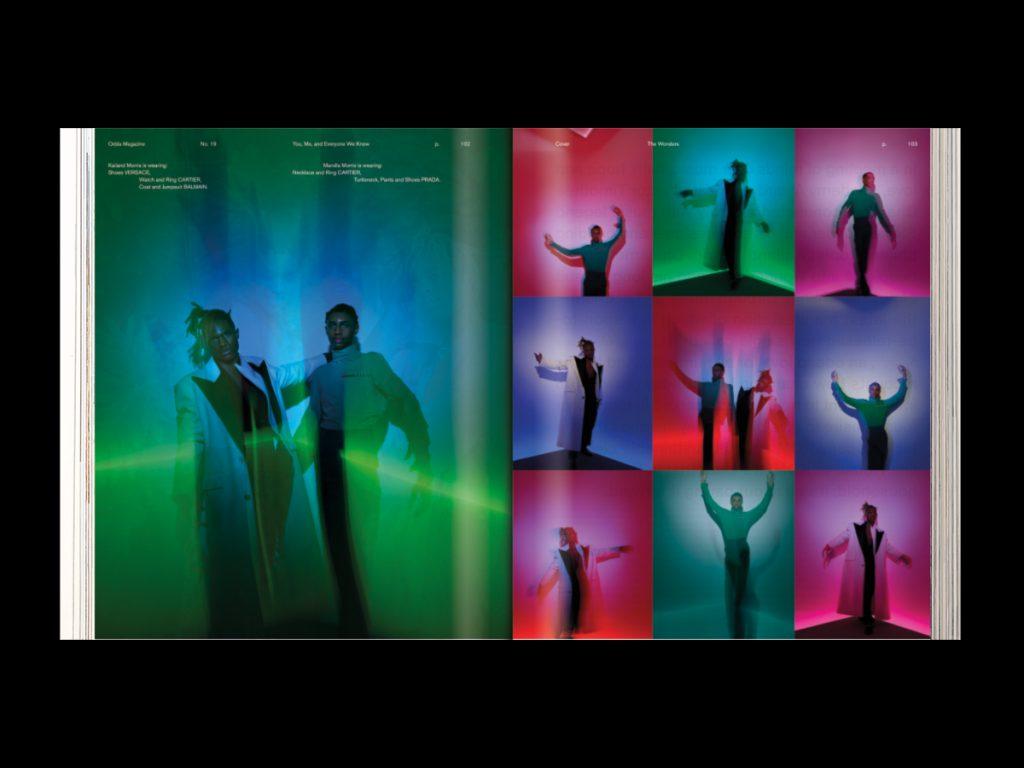 Revista ODDA - Doble página interior 6 del número 19