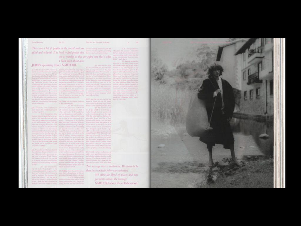 Revista ODDA - Doble página interior 2 del número 19