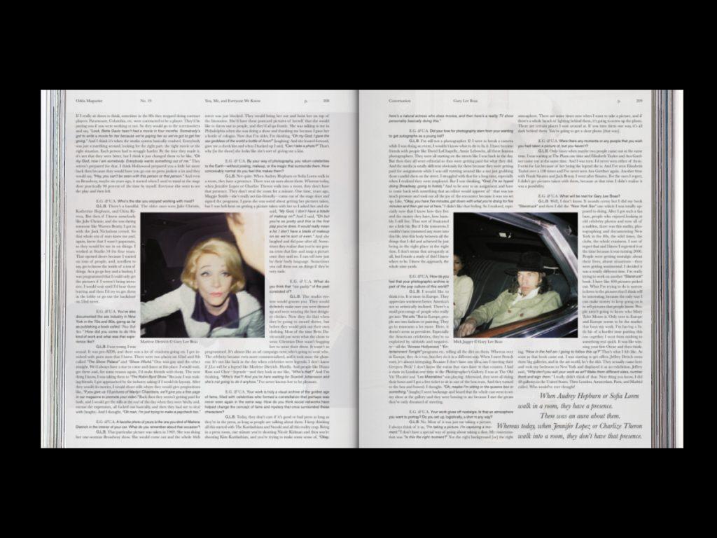 Revista ODDA - Doble página interior 9 del número 19