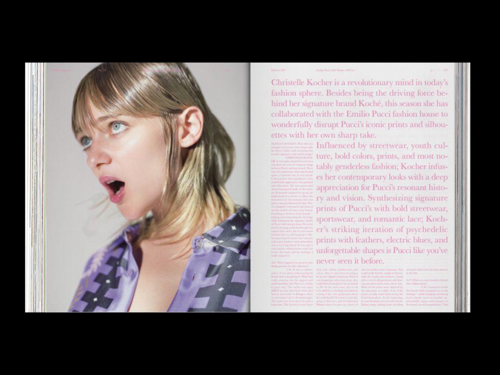 Revista ODDA - Doble página interior 5 del número 19