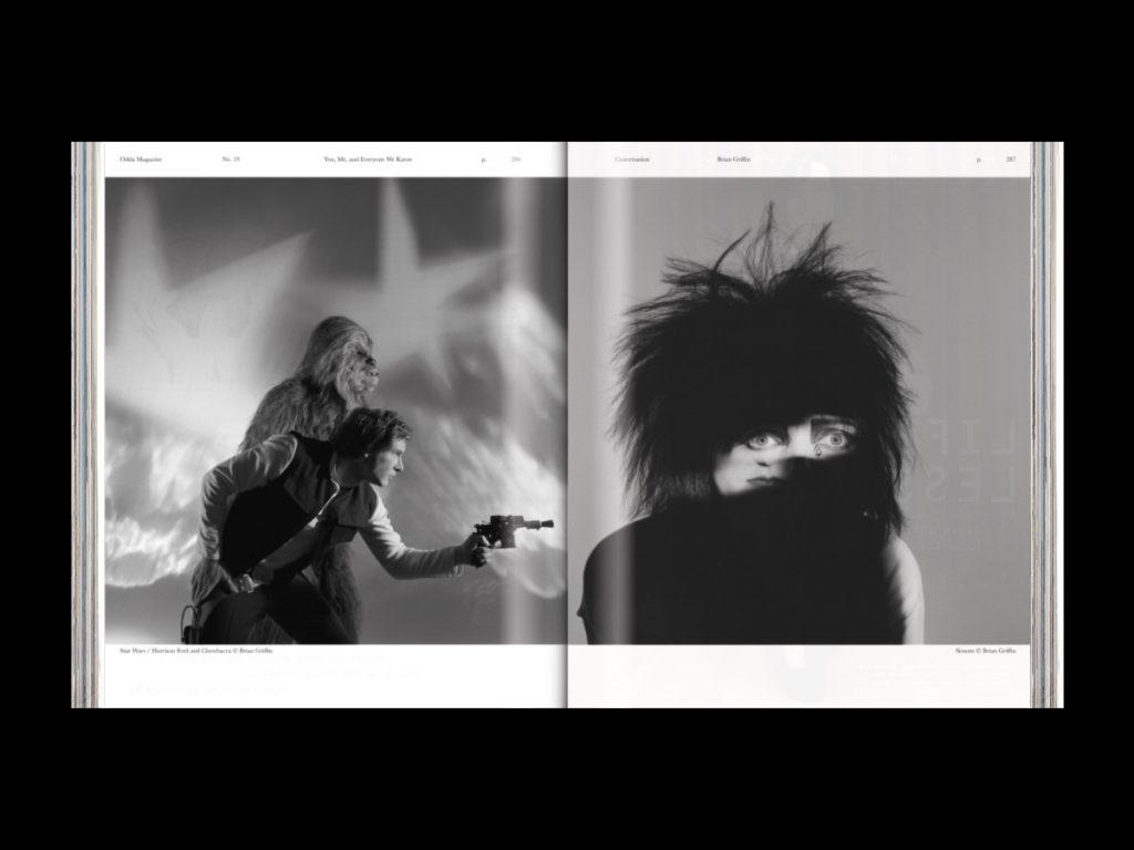Revista ODDA: el último proyecto de Naranjo-Etxeberria - Doble página interior con foto
