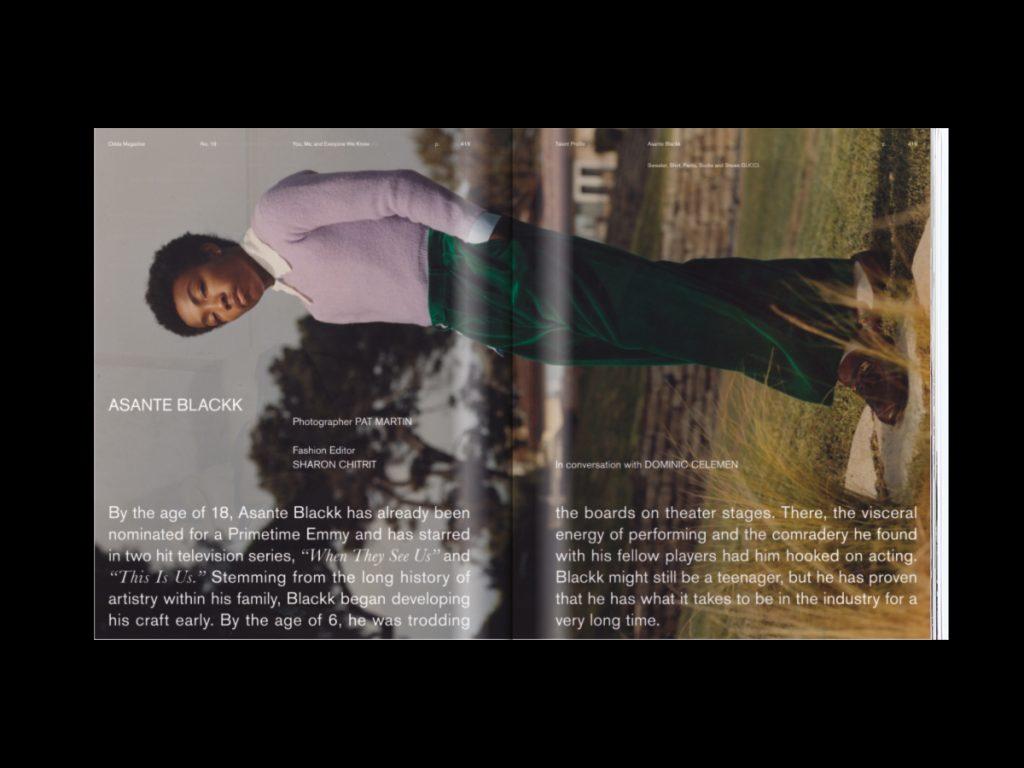 Revista ODDA - Doble página interior 8 del número 19
