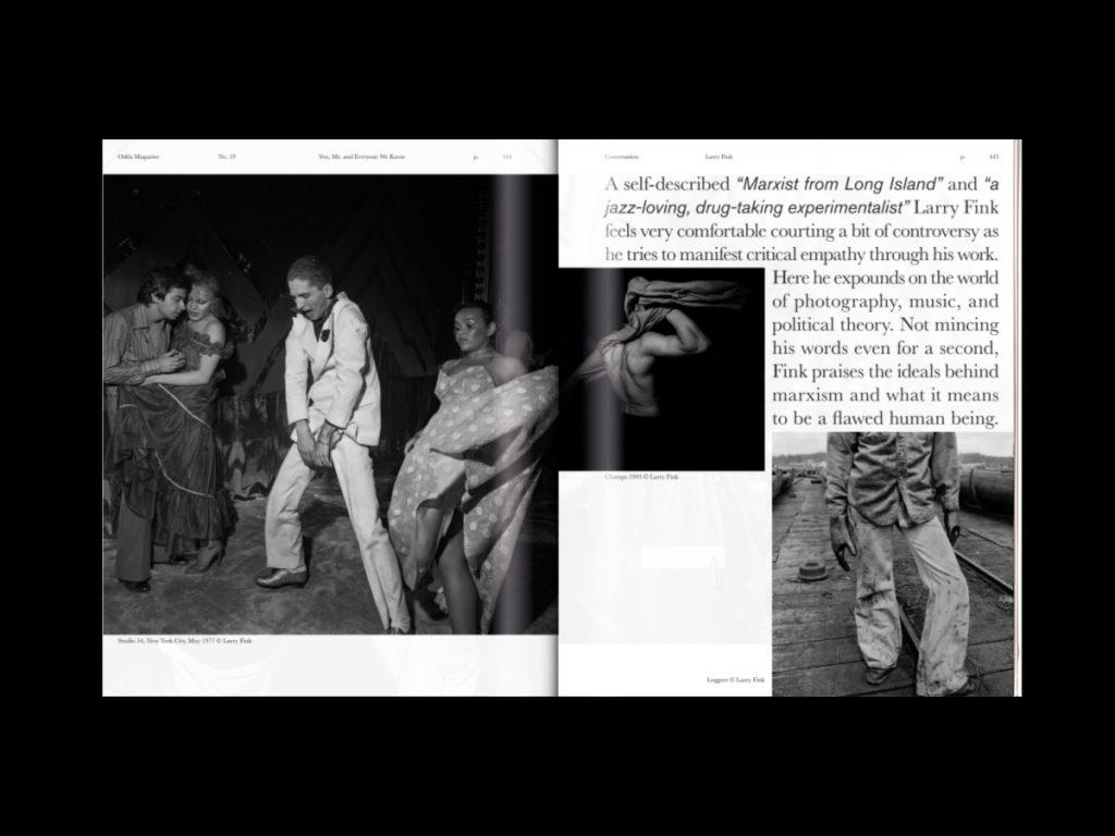 Revista ODDA - Doble página interior 3 del número 19