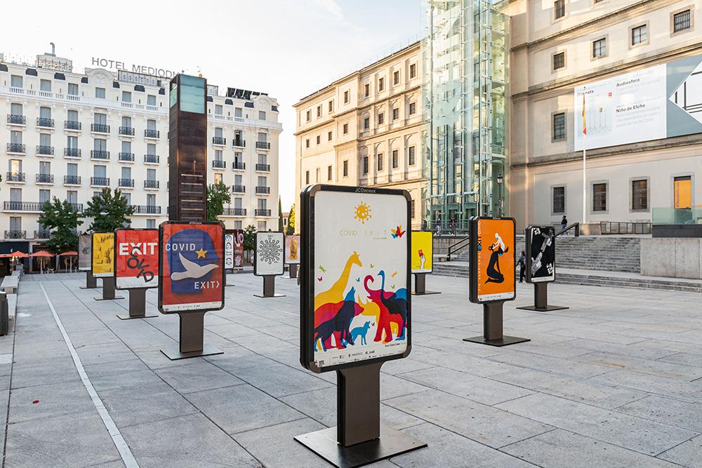 Exposición 'CovidExit' - Plaza Juan Goytisolo 5