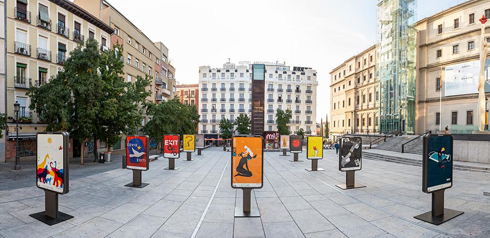 Exposición 'CovidExit' - Plaza Juan Goytisolo 4