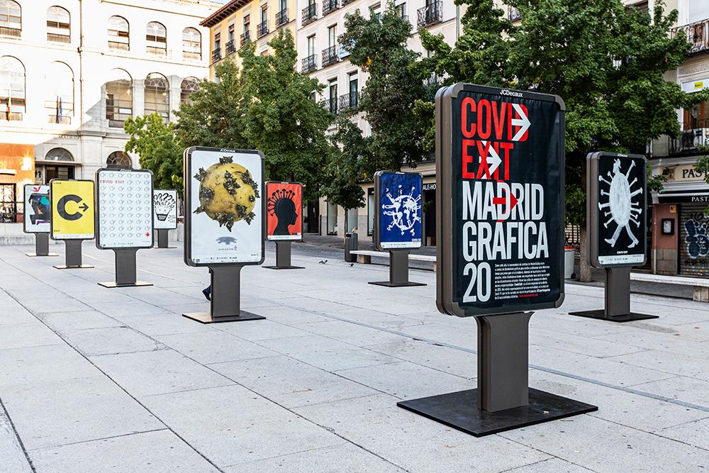 Exposición 'CovidExit'- Plaza Juan Goytisolo 7