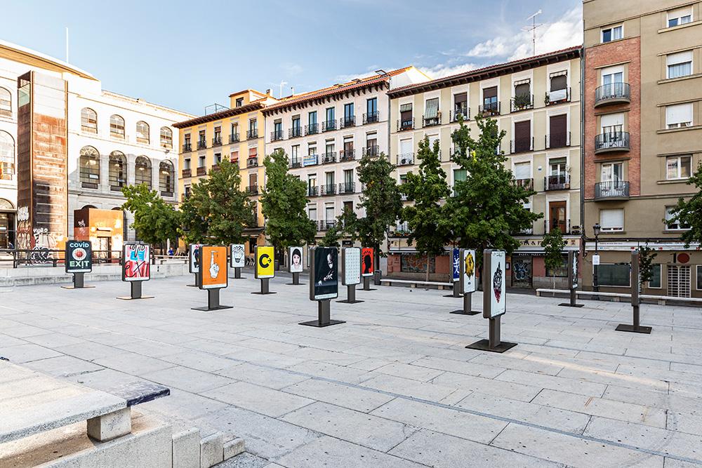 Exposición 'CovidExit'  - Plaza Juan Goytisolo 6