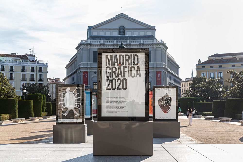 Cartel Madrid Gráfica 2020 - PLaza Oriente