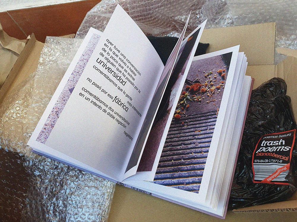 'Trash poems' de Blanca Bercial, nueva publicación de La Granja Editorial