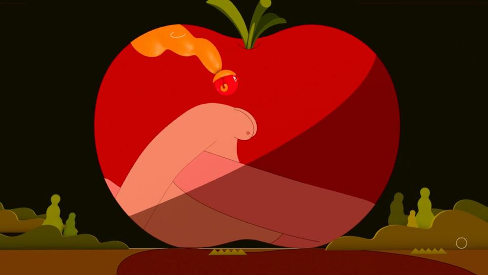 Fragmento de A Big Crush, la película de animación de Youting Lin