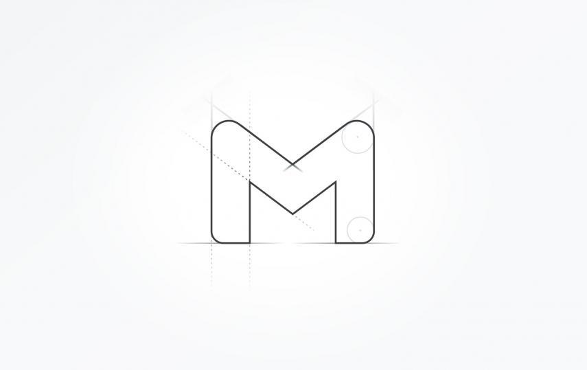 Boceto del nuevo logo de gmail