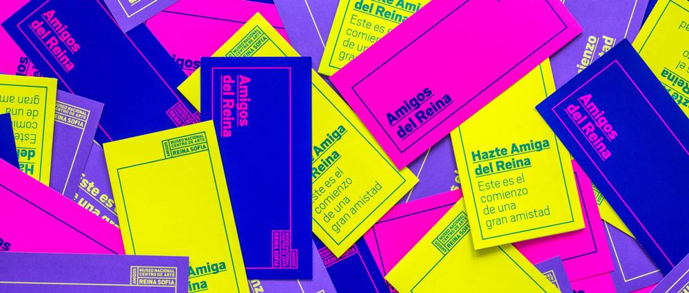 La agencia Knom diseña la marca de la Fundación Amigos Museo Reina Sofía