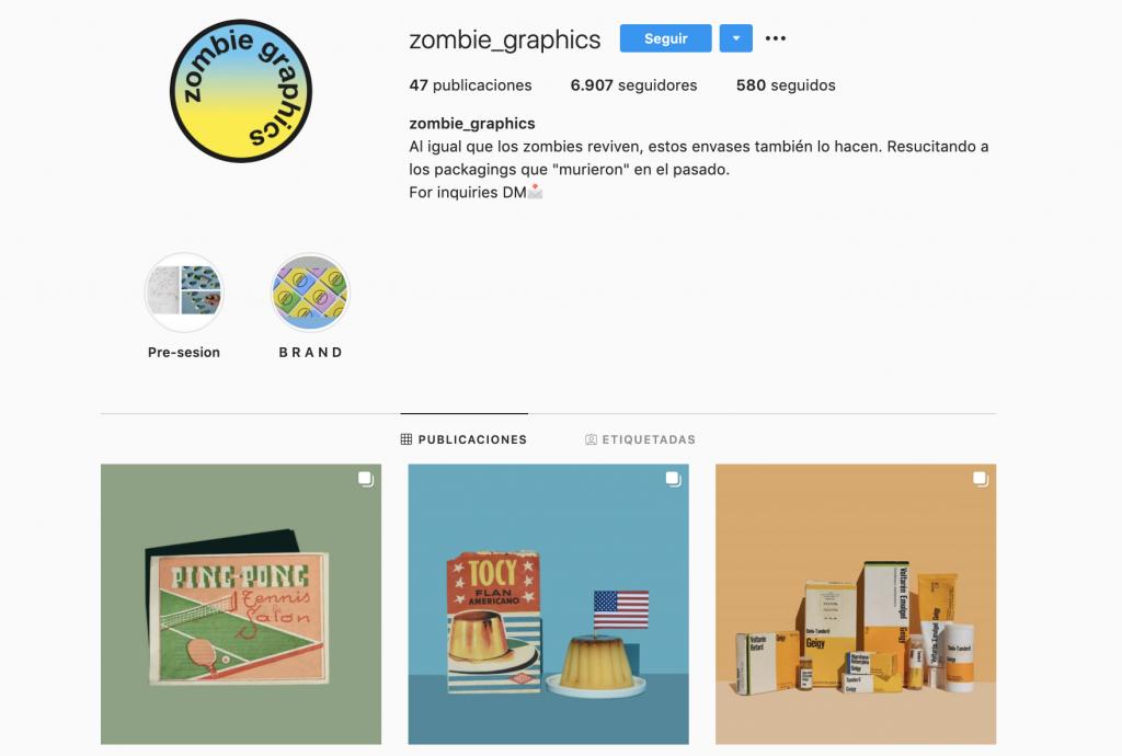 """Zombie Graphics es la cuenta de Instagram que """"resucita"""" el packaging"""