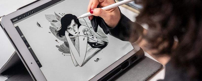 técnicas dibujo tradicional