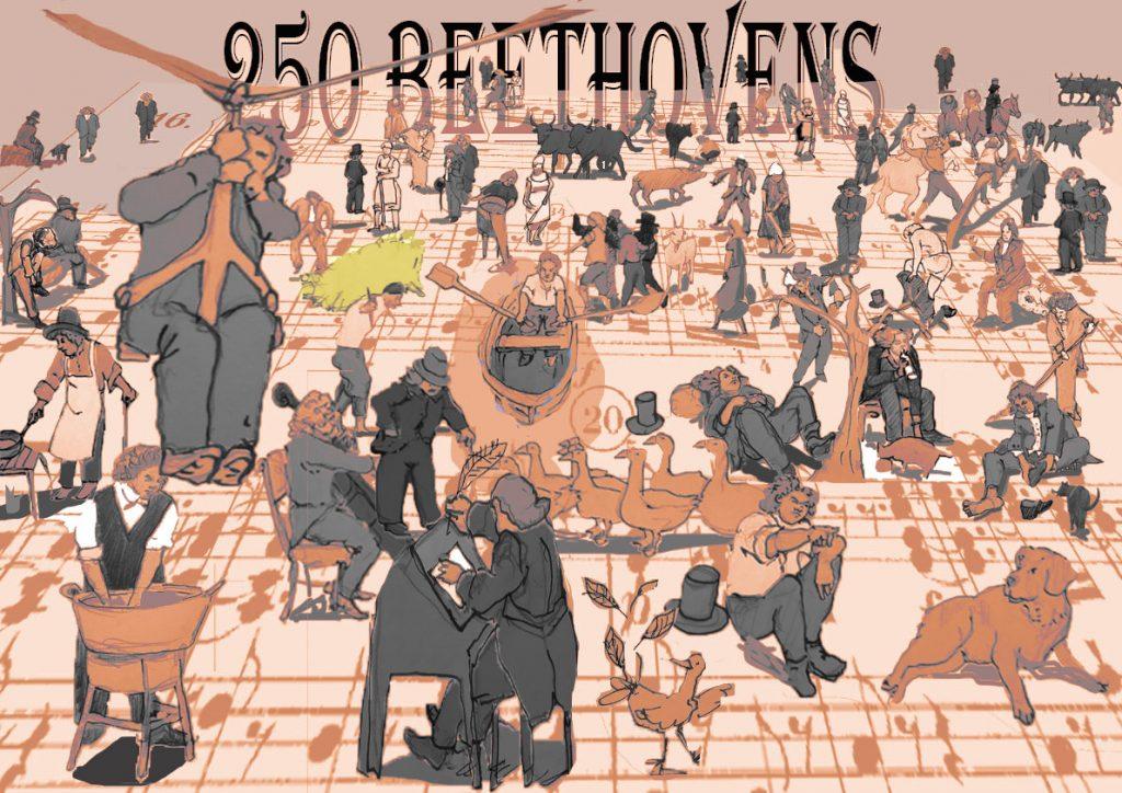 Carteles 250º aniversario Beethoven