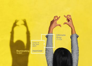Pantone revela los Colores del año 2021: PANTONE 17-5104 Ultimate Gray y PANTONE 13-0647 Illuminating