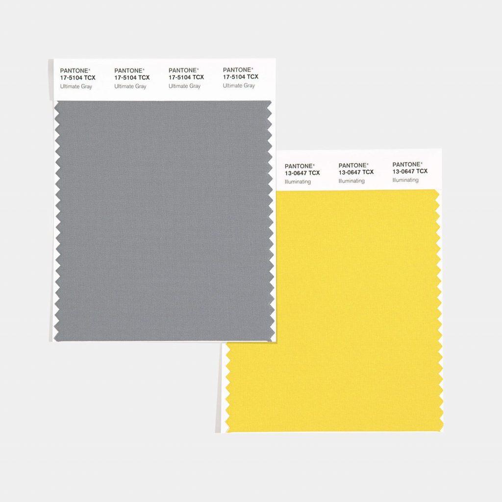 Pantone revela los Colores del año 2021: PANTONE 17-5104 Ultimate Gray y PANTONE 13-0647 Illuminating