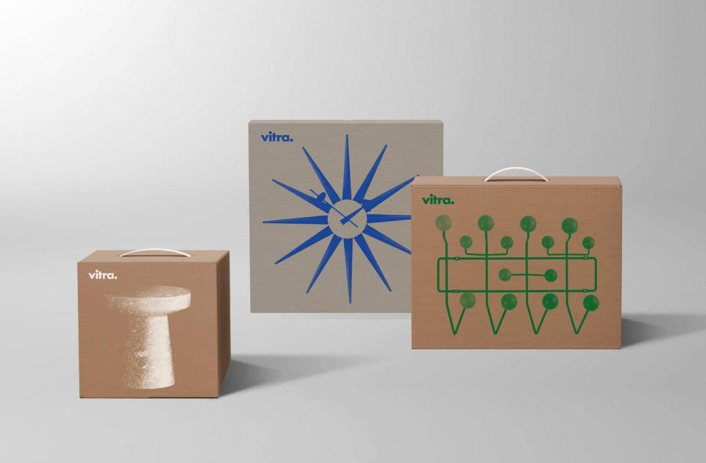 packaging sostenible de Vitra
