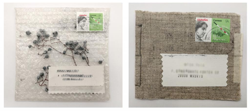 Ejemplos de Mail Art