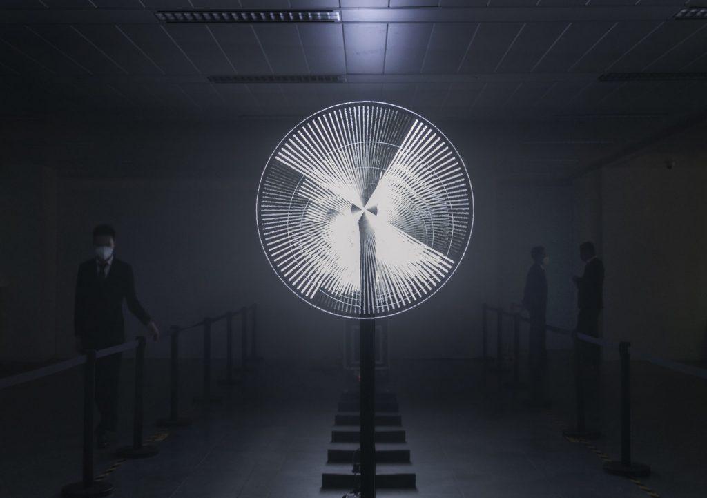 holografía vídeo arte