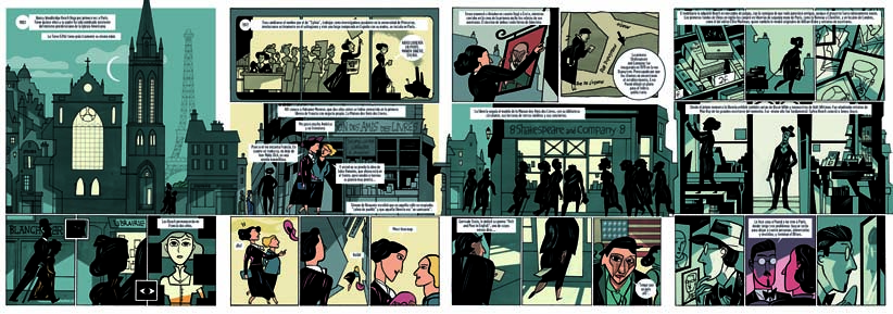 novela gráfica de Javier Olivares