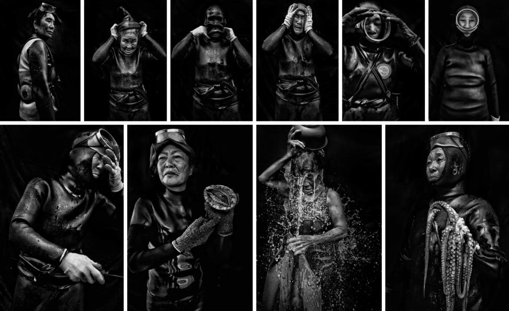fotografías mujeres del mar