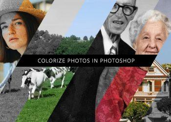 Colorizar fotos con Adobe Photoshop