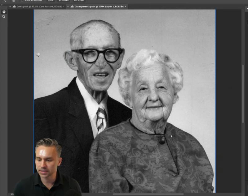 Foto antes de colorizar