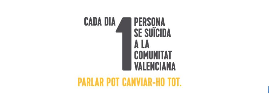 campaña prevención del suicidio Valencia