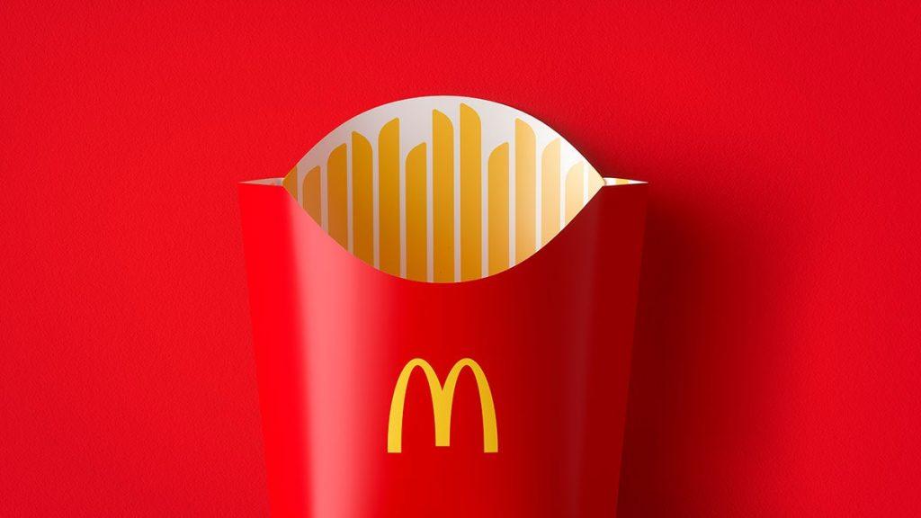 packaging McDonald's