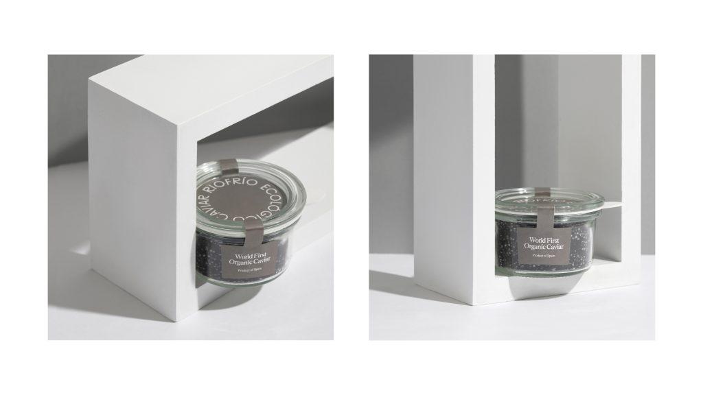 renovación del packaging de Caviar Riofrío
