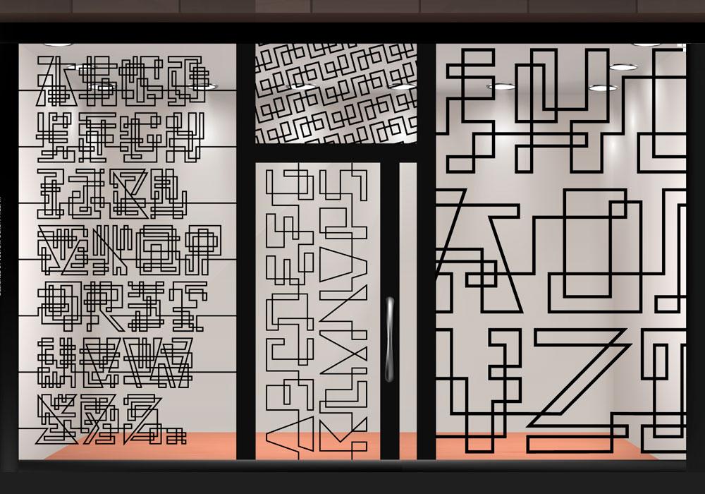 tipografía weg
