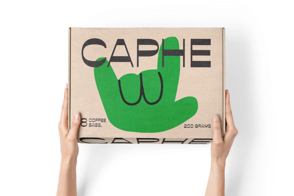 packaging de caphe